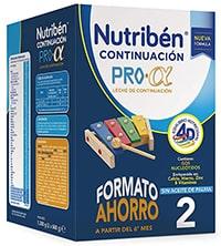 Nutribén leche continuacion - 1200 G