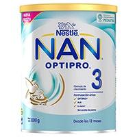 NAN OPTIPRO 3 - Preparado lácteo infantil - Fórmula de crecimiento en polvo