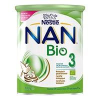 Nestlé NAN Bio 3 Leche de Crecimiento, fórmula infantil